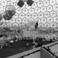 American Pavilion at Expo '67 in Montreal, Quebec. Photo by Della Charlton.