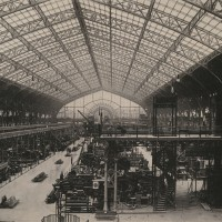 Inside view of the Galerie des machines, 1889. Used for the World Expo of 1900. Brown University Library. Collection: Paris Capital of the 19th Century